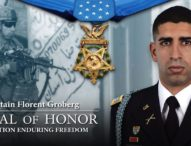 Captain Florent Groberg Medal of Honor Recipient