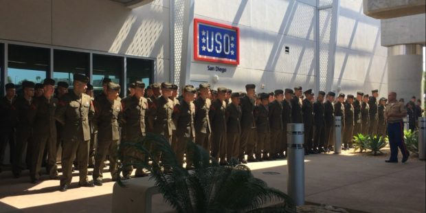 USO San Diego Celebrates 76 Years of Service