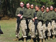 Marines sack commander of female boot camp training