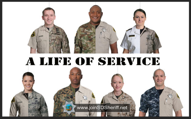 San Diego County Sheriff's Department – A Life of Service