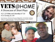 """Vets at Home: A Showcase of Short Plays""  04/21-04/22"