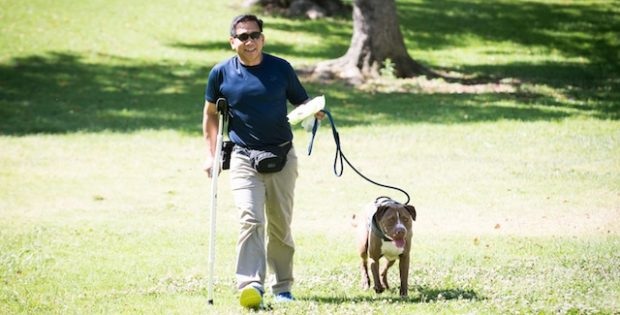Veteran Attributes Success to Rescue Dog