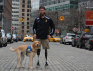Assistance dog helps combat-injured veteran
