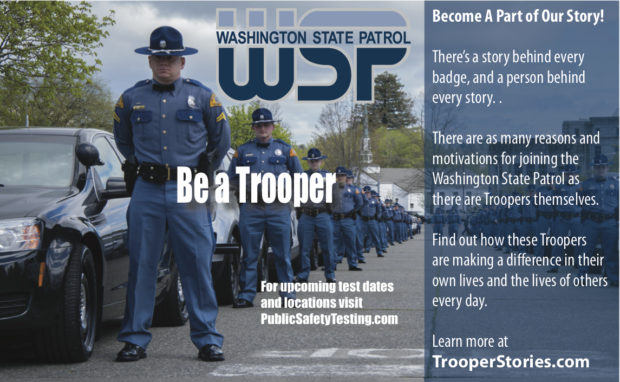 The Washington State Patrol – Making a difference everyday