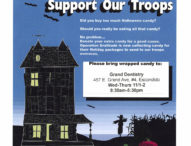 Donate Extra Candy – Support Our Troops