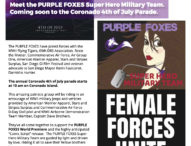 Purple Foxes – Female Forces Unite