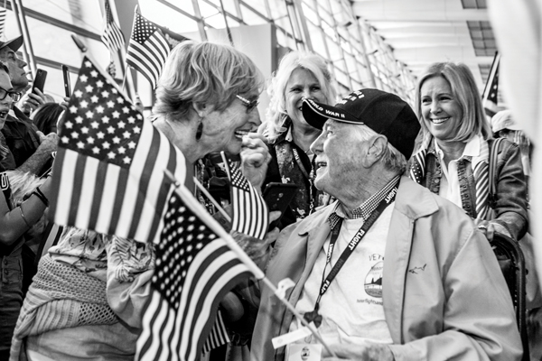 Join Honor Flight – Welcoming Home Veterans