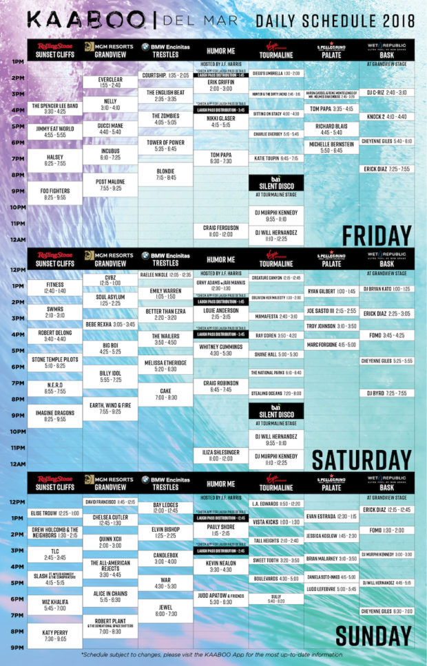 KAABOO Del Mar Takes Center Stage
