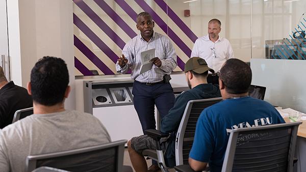 NYU Tandon Veterans Future Lab to Provide Free Housing