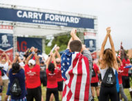 Carry Forward 5K Honors Veterans' Service