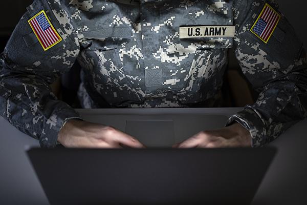 cyberattacks targeting military members