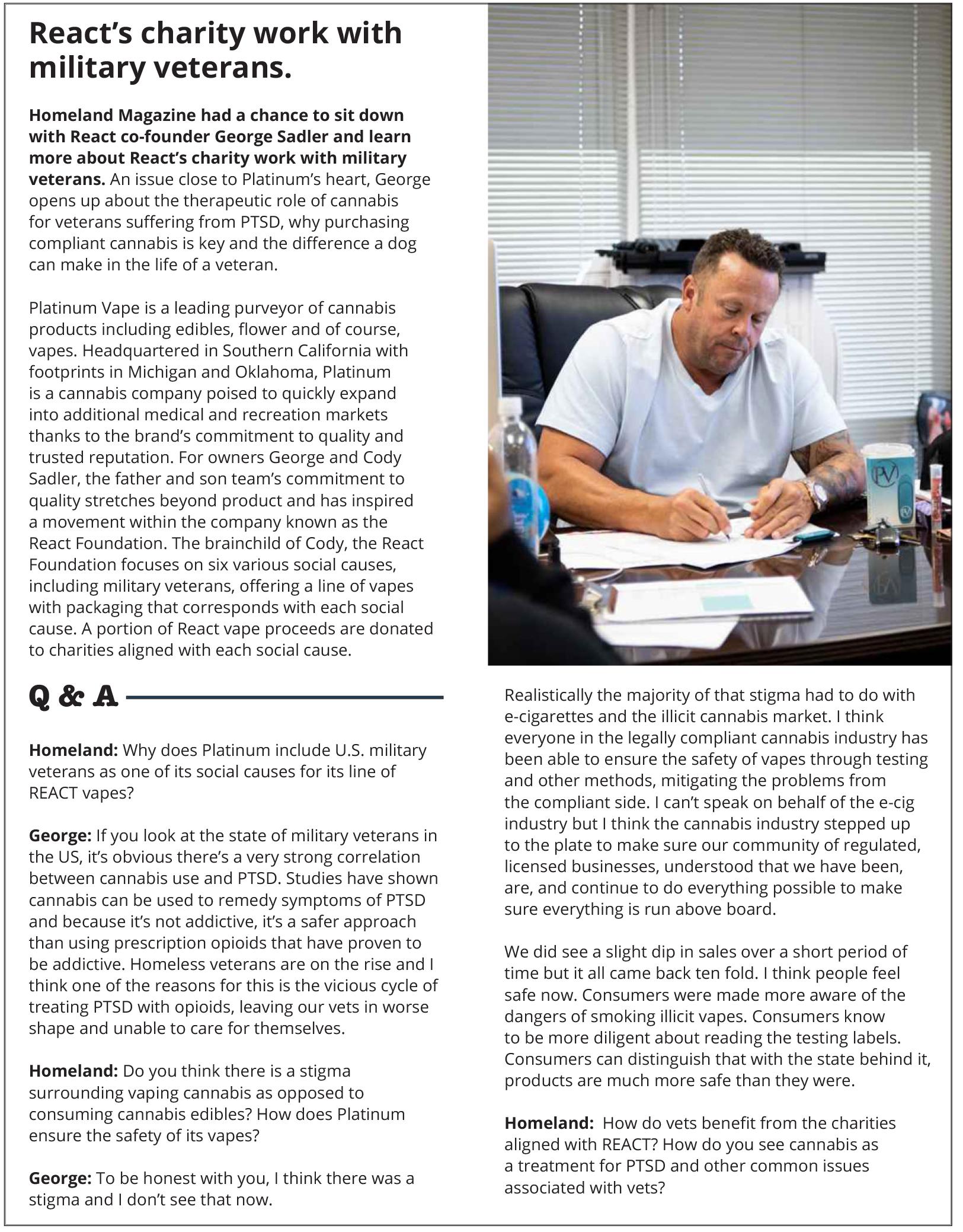 https://homelandmagazine.com/wp-content/uploads/2020/08/React-Homeland-Magazine-Aug-Sept-2020.jpg