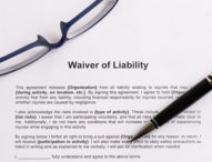 COVID-19  LIABILITY WAIVERS